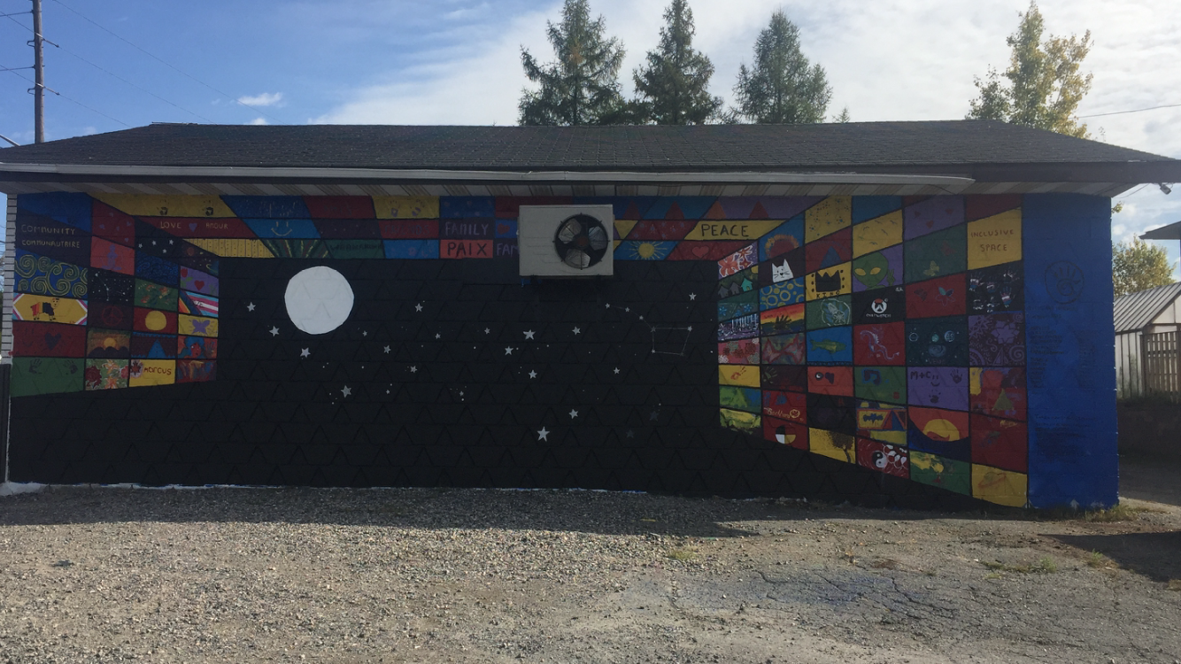 Bancroft Dr Community Mural COMPLETED