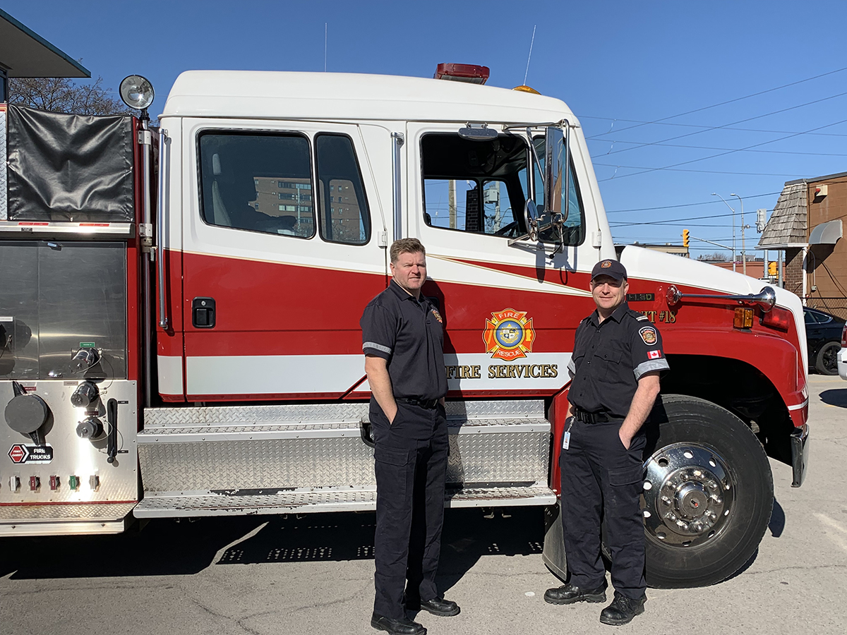 City donates fire truck to northern First Nation community