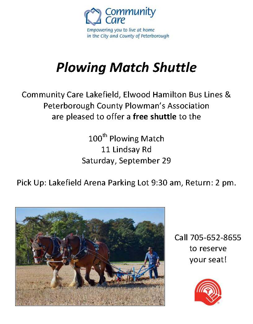 Plowing Match Shuttle Poster
