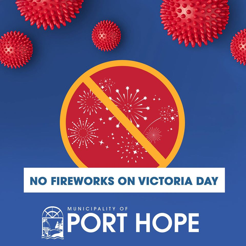 No Fireworks on Victoria Day in Port Hope