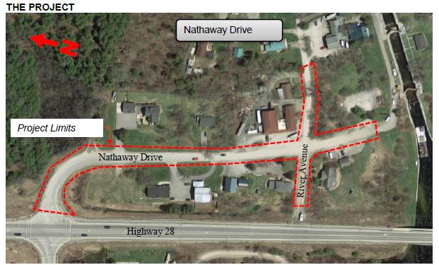Nathaway Drive Reconstuction