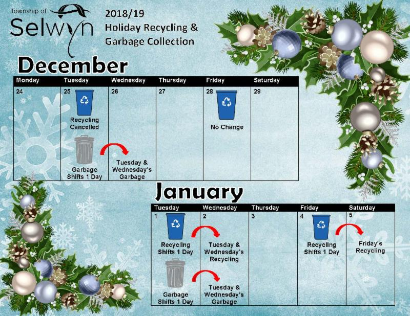 Click Image for Garbage & Recycling Hours