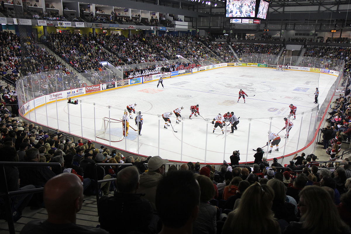 Dog Run street parties set for IceDogs home playoff games