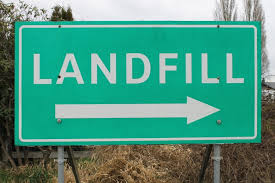 Landfill Site Sign