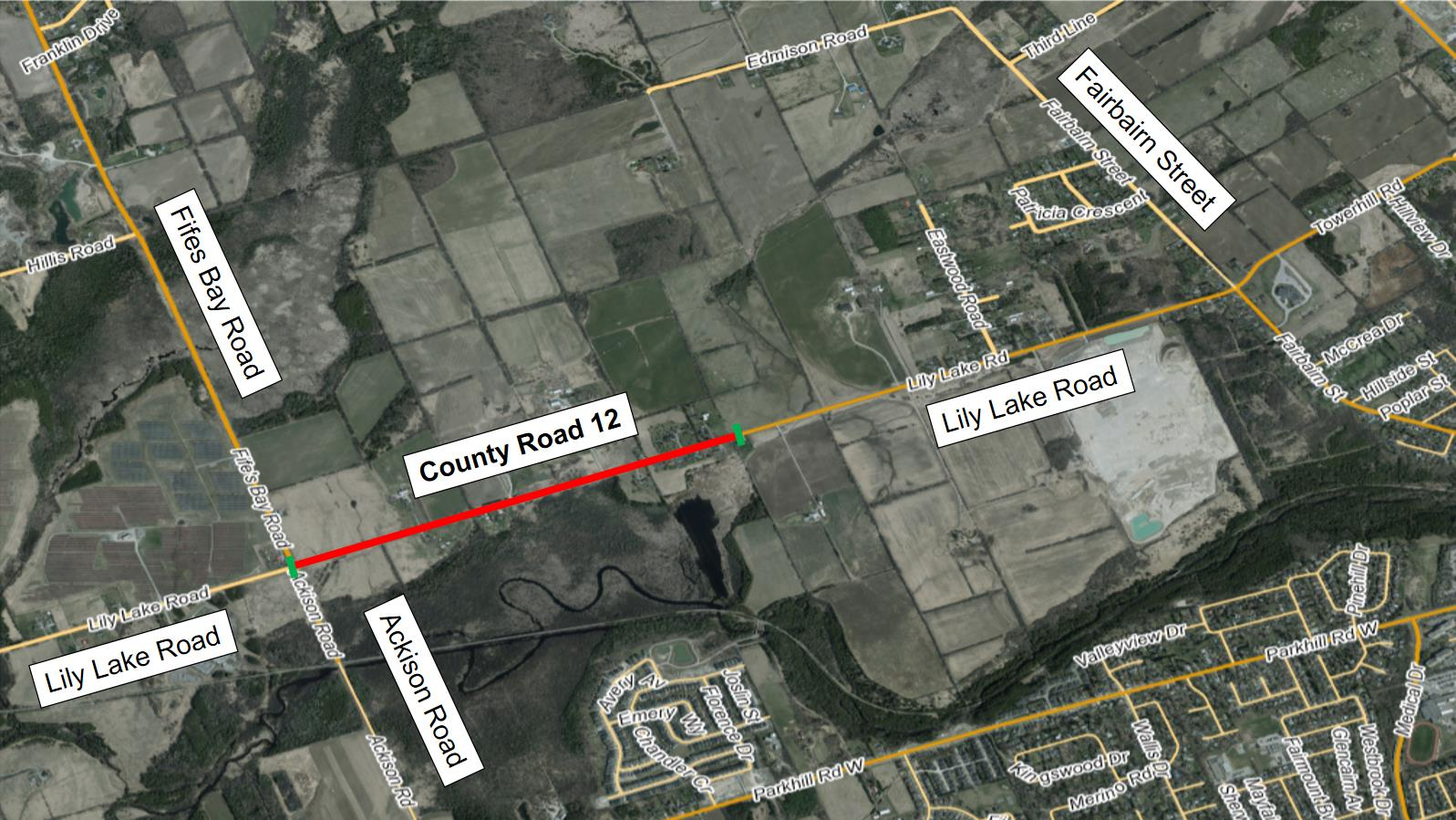 CR 12 Notice of Construction - Lily Lake Road