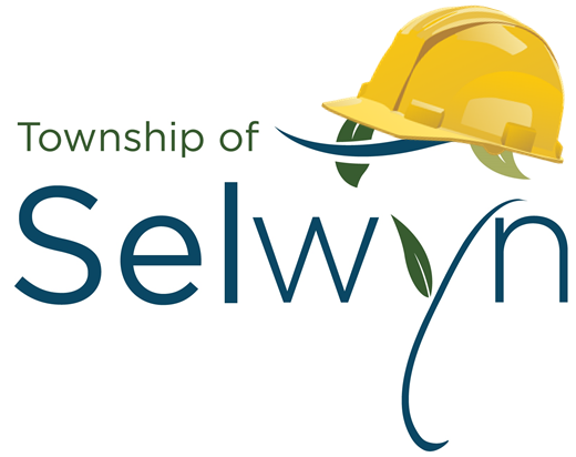 Selwyn Township logo with construction hat