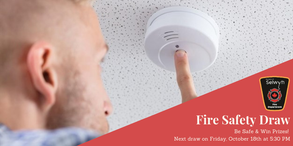 Fire Safety Draw Poster