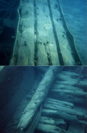 Image - Labour day Wreck 16 foot depth 400m off shore - September 1999