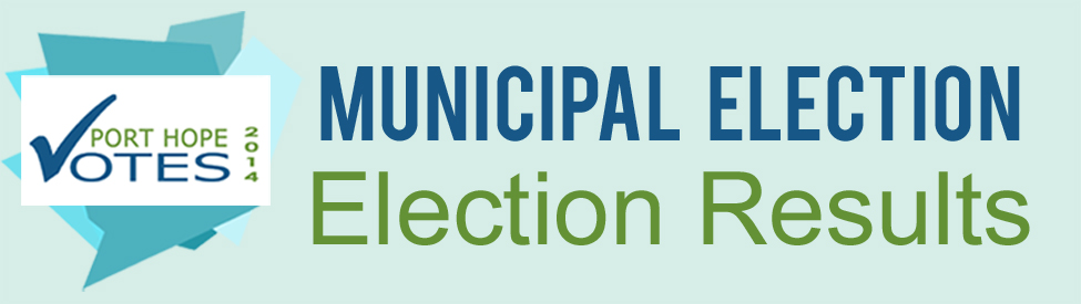 Municipal Election results page banner