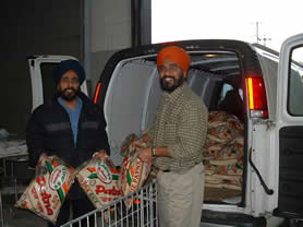 Onkar foods donation for Stuff a Bus
